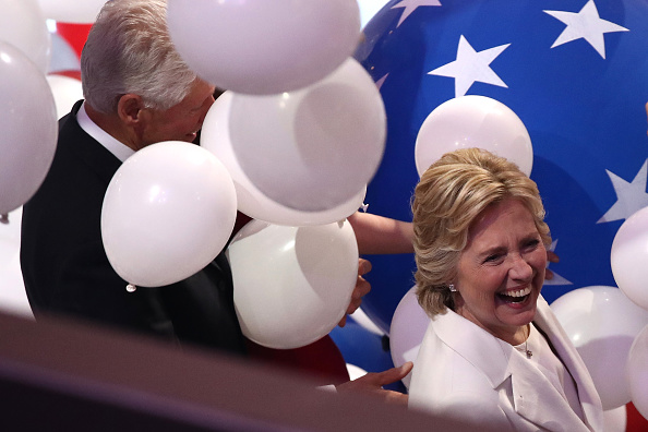 2016 United States Presidential Election「Democratic National Convention: Day Four」:写真・画像(17)[壁紙.com]