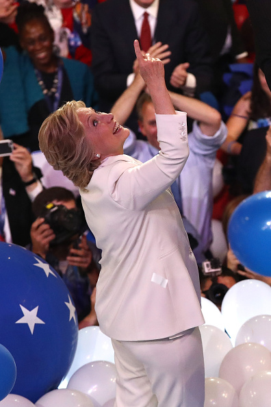 2016 United States Presidential Election「Democratic National Convention: Day Four」:写真・画像(19)[壁紙.com]