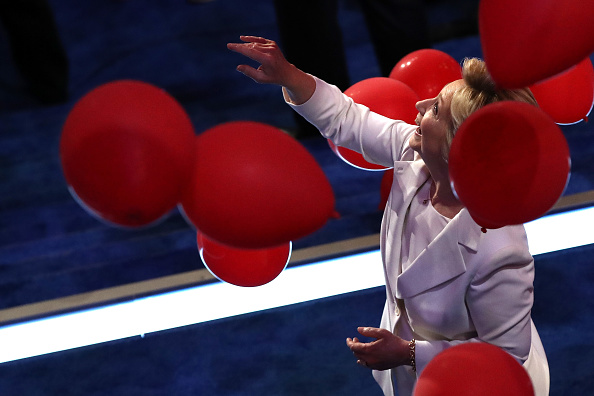 2016 United States Presidential Election「Democratic National Convention: Day Four」:写真・画像(3)[壁紙.com]