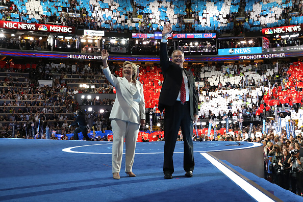 2016 United States Presidential Election「Democratic National Convention: Day Four」:写真・画像(0)[壁紙.com]