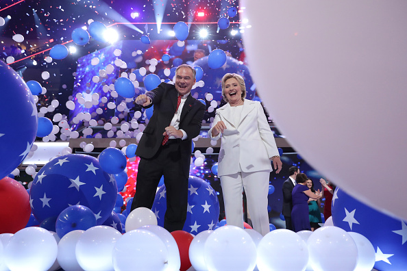 2016 United States Presidential Election「Democratic National Convention: Day Four」:写真・画像(14)[壁紙.com]