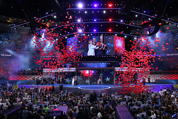 2016 United States Presidential Election「Democratic National Convention: Day Four」:写真・画像(13)[壁紙.com]