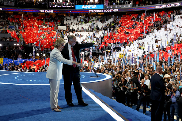 2016 United States Presidential Election「Democratic National Convention: Day Four」:写真・画像(11)[壁紙.com]