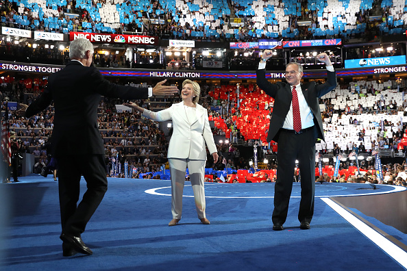 2016 United States Presidential Election「Democratic National Convention: Day Four」:写真・画像(18)[壁紙.com]
