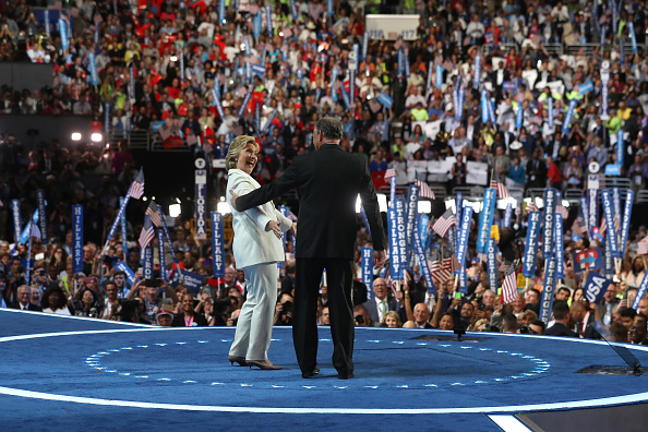 2016 United States Presidential Election「Democratic National Convention: Day Four」:写真・画像(1)[壁紙.com]
