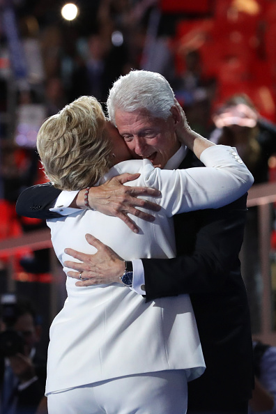 2016 United States Presidential Election「Democratic National Convention: Day Four」:写真・画像(9)[壁紙.com]