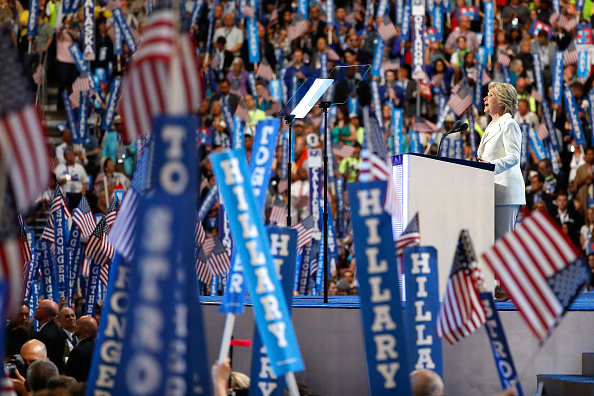 2016 United States Presidential Election「Democratic National Convention: Day Four」:写真・画像(8)[壁紙.com]