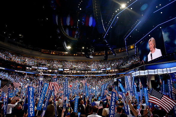 2016 United States Presidential Election「Democratic National Convention: Day Four」:写真・画像(5)[壁紙.com]