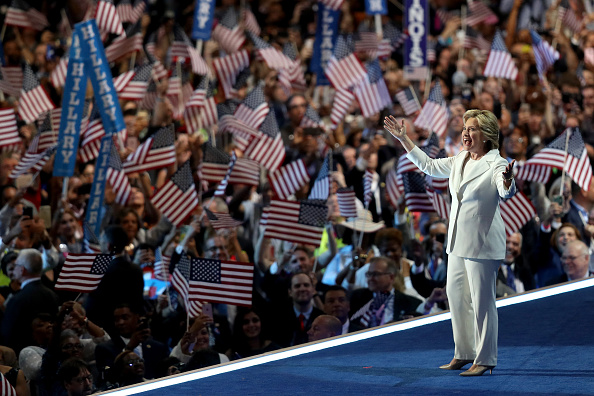 2016 United States Presidential Election「Democratic National Convention: Day Four」:写真・画像(7)[壁紙.com]