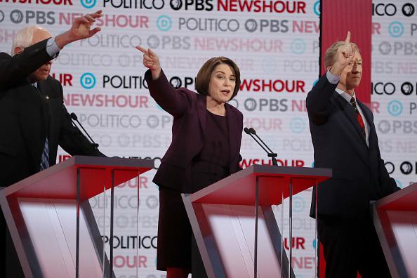 Justin Sullivan「Democratic Presidential Candidates Participate In Last Debate Of 2019」:写真・画像(18)[壁紙.com]