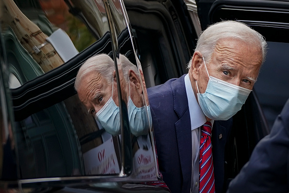 Presidential Candidate「Democratic Presidential Nominee Joe Biden Campaigns Around Wilmington, DE」:写真・画像(16)[壁紙.com]