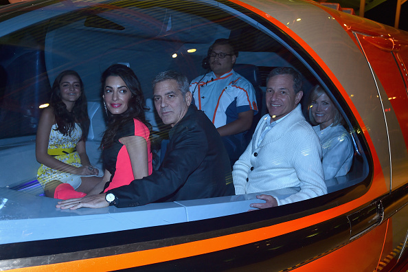 """Train - Vehicle「The World Premiere Of Disney's """"Tomorrowland"""" At Disneyland, Anaheim, CA - After Party」:写真・画像(10)[壁紙.com]"""