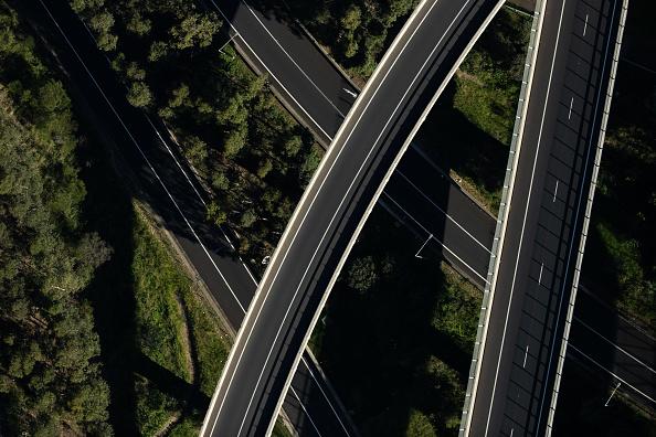 Road「Aerial Views Of Sydney As Australia Sees Steady Decline In New Coronavirus Cases」:写真・画像(13)[壁紙.com]