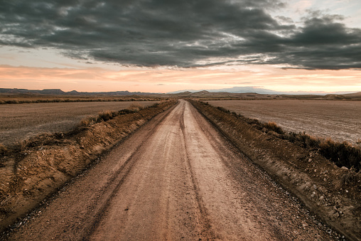 Drought「Desert road」:スマホ壁紙(13)