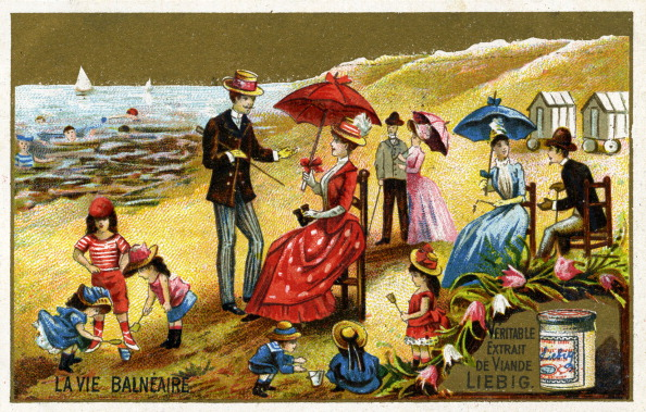 Middle Class「A day at the seaside in France late 19th century」:写真・画像(15)[壁紙.com]