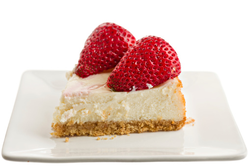 Dessert「Slice Of Strawberry Cheesecake」:スマホ壁紙(8)