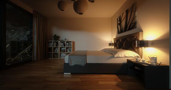 Moonlight「Modern Bedroom」:スマホ壁紙(12)