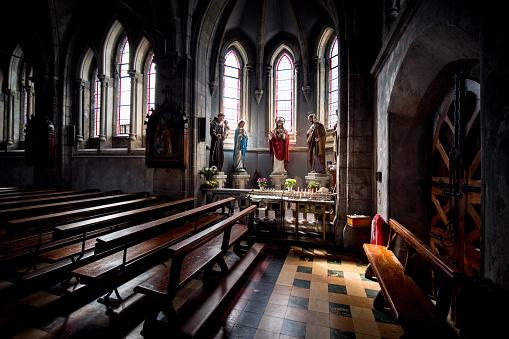 大昔の「Interior Daniel O'Connell Memorial Catholic Church, Cahersiveen」:スマホ壁紙(12)