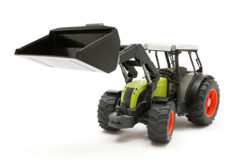 Construction Vehicle「Plastic Front Loader Tractor」:スマホ壁紙(14)