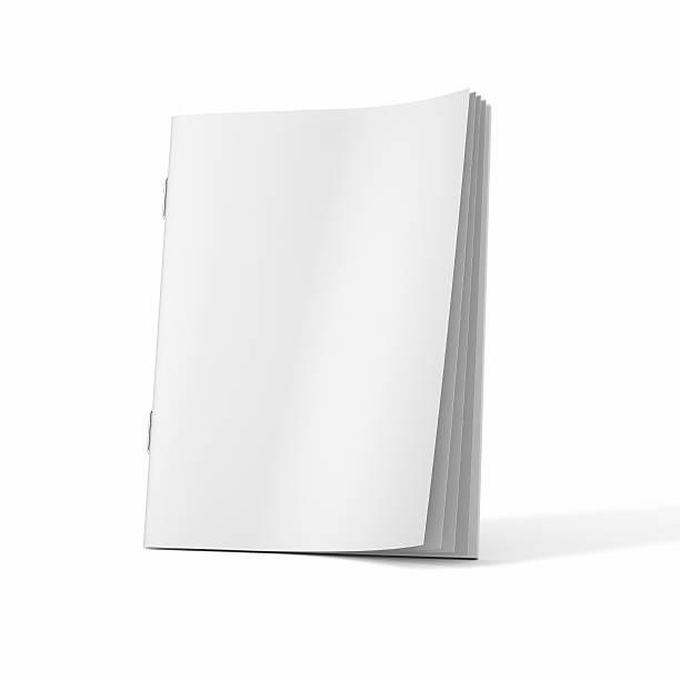 A blank magazine book on a white background:スマホ壁紙(壁紙.com)