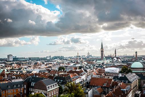 Danish Culture「Denmark Aerial View In The Morning」:スマホ壁紙(6)