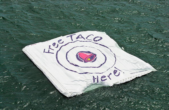 Taco「Taco Bell Floats A Promotional Bullseye Target, In The Ocean The T」:写真・画像(9)[壁紙.com]