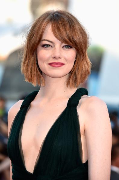 Emma Stone「Opening Ceremony And 'Birdman' - Premiere - 71st Venice Film Festival」:写真・画像(9)[壁紙.com]