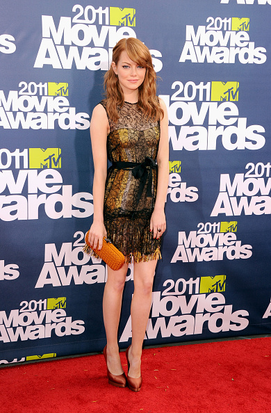 Emma Stone「2011 MTV Movie Awards - Arrivals」:写真・画像(12)[壁紙.com]
