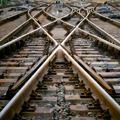 Cross Shape「Railroad track points」:スマホ壁紙(18)