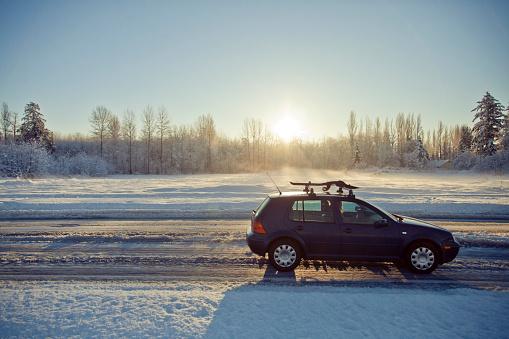 Motor Vehicle「Winter driving.」:スマホ壁紙(10)