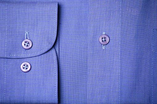 Cuff - Sleeve「Blue shirt」:スマホ壁紙(1)