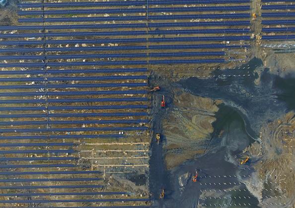 Solar Energy「40MW Solar Power Plant Under Construction In Huaian」:写真・画像(9)[壁紙.com]