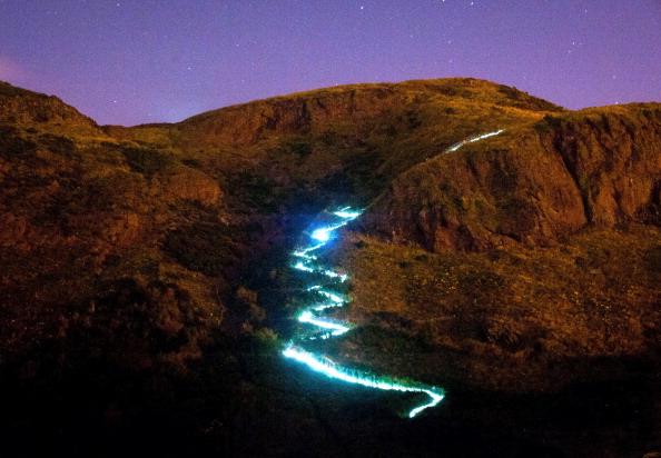 Light Trail「Edinburgh International Festival - Speed of Light」:写真・画像(11)[壁紙.com]