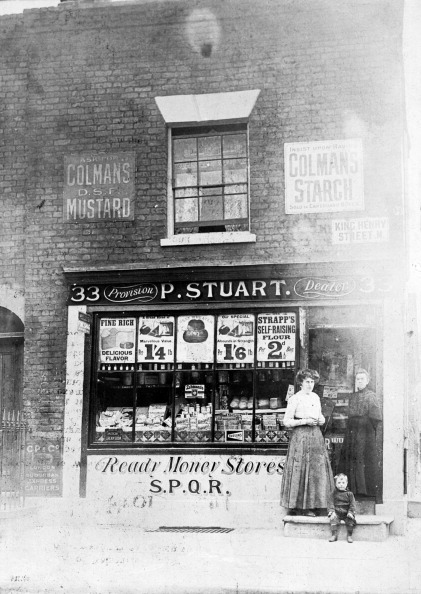 Condiment「P Stuart's Grocery Shop, King Henry Street, Islington, London.」:写真・画像(11)[壁紙.com]