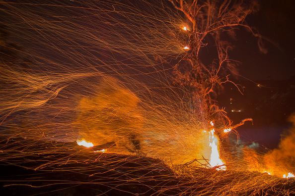 Fire - Natural Phenomenon「Santa Ana Winds Continue Thomas Fire Threat In Santa Barbara County」:写真・画像(15)[壁紙.com]