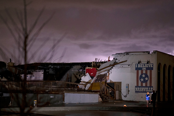 Tennessee「Tornado Hits Nashville, Tennessee」:写真・画像(0)[壁紙.com]