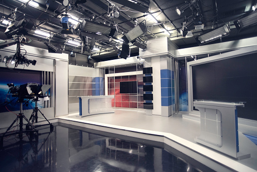 Broadcasting「Television studio」:スマホ壁紙(9)