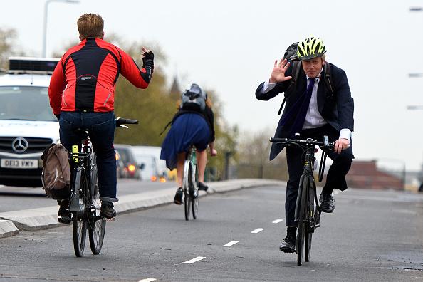Riding「Boris Johnson Launches London's First Cycle Superhighway」:写真・画像(0)[壁紙.com]