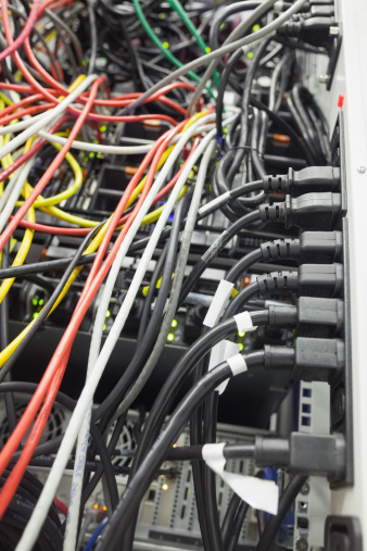 Data Center「Server interior」:スマホ壁紙(16)