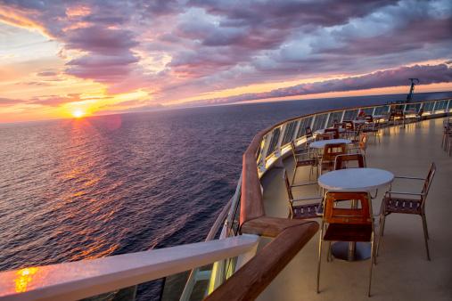 Cruise Ship「Sunset on a Cruise Ship」:スマホ壁紙(14)