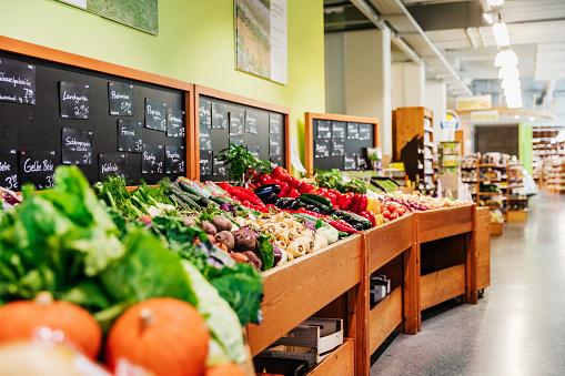 Market - Retail Space「Vegetable Section At Supermarket」:スマホ壁紙(15)