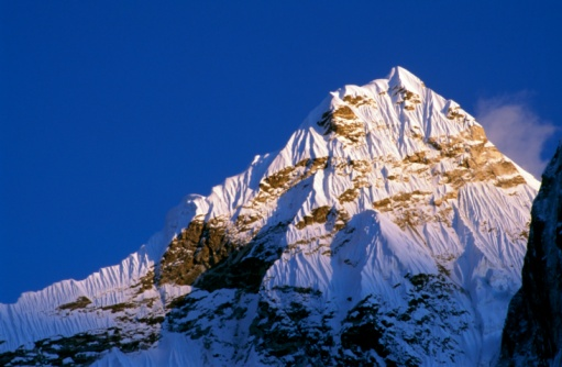 Ama Dablam「Ama Dablam in last light from Dingboche Everest National Park, Nepal」:スマホ壁紙(8)