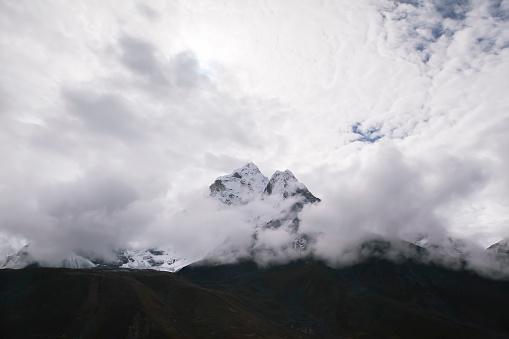 Ama Dablam「Ama Dablam seen from Dingboche, Nepal」:スマホ壁紙(17)