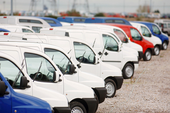 Mode of Transport「New fiat doblo cargo vans parked at Avonmouth docks near Bristol, UK」:写真・画像(11)[壁紙.com]