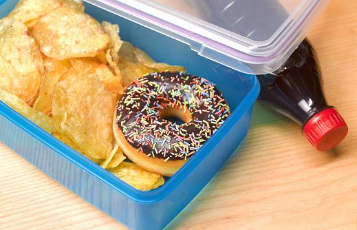 Unhealthy Eating「Unhealthy lunch box」:スマホ壁紙(19)