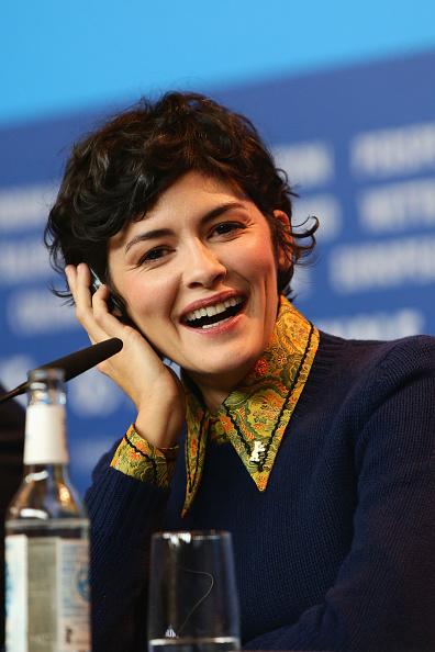 オドレイ・トトゥ「International Jury Press Conference - 65th Berlinale International Film Festival」:写真・画像(18)[壁紙.com]