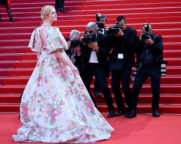 "Elle Fanning「""Les Miserables"" Red Carpet - The 72nd Annual Cannes Film Festival」:写真・画像(13)[壁紙.com]"