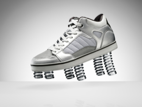 Flexibility「A sports shoe with springs」:スマホ壁紙(4)