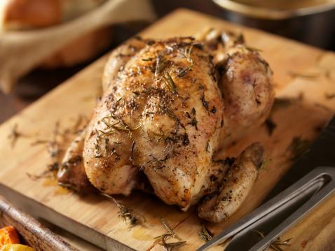 Roast Chicken「Roasted Chicken with Fresh Thyme」:スマホ壁紙(16)