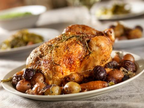 Roast Chicken「Roasted Chicken Dinner」:スマホ壁紙(7)